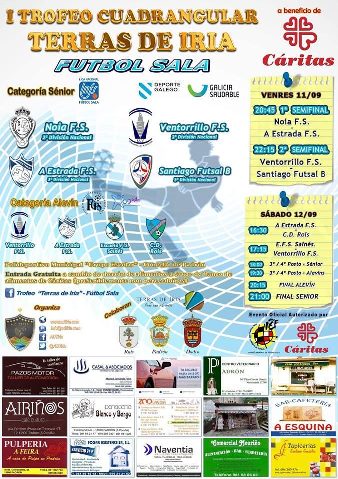 cartel I Torneo Terras de Iria