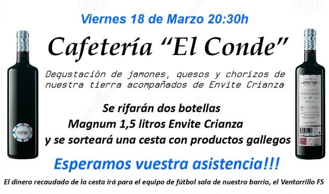 CARTEL CESTA EL CONDE VENTORRILLO FS
